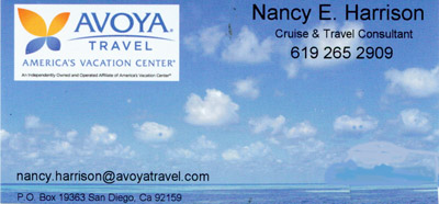 Nancy Harrison Travel