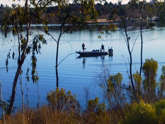 Fishing at Lake Murray