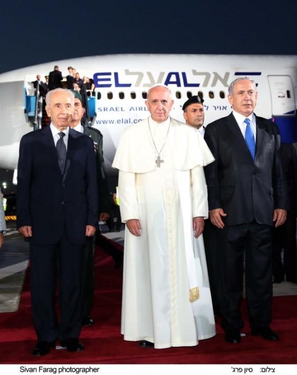 El Al Tells Special Arrangements For Pope S Flight Home