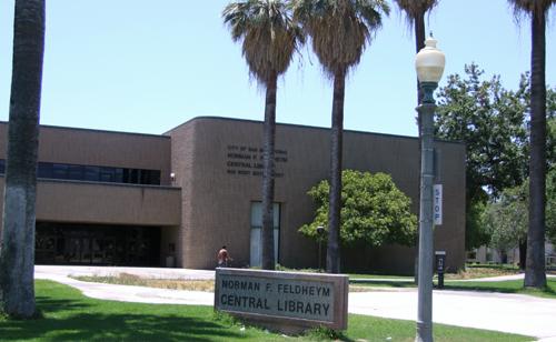 Feldheym Library, San Bernardino