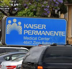kaiser permanente sign