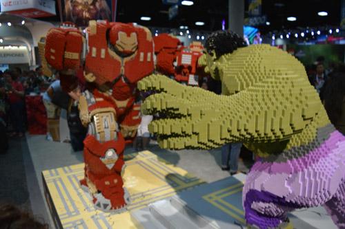 Lego Hulk vs. Lego Hulk Buster
