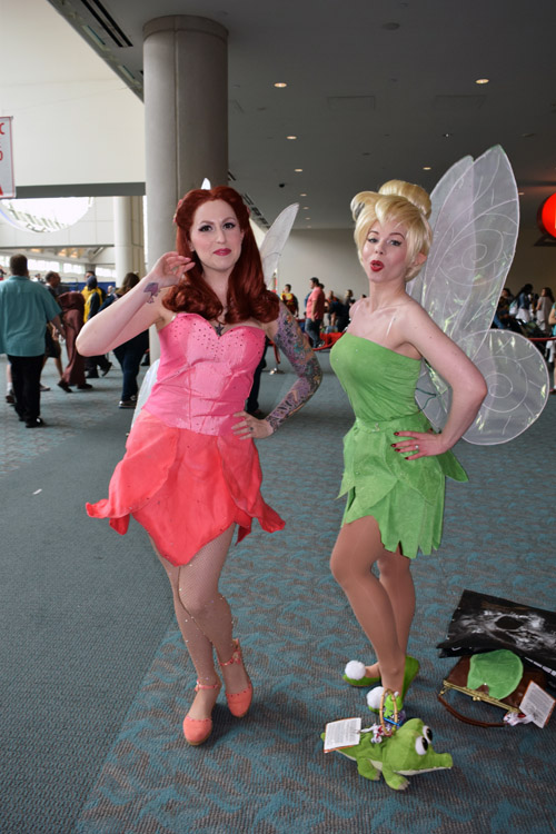 Rosetta and Tinkerbell