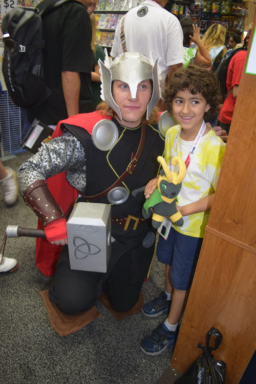 Thor and friend