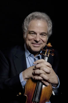Yitzhak Perlman (Photo: Lisa Marie Mazzucco, Strings Exclusive)