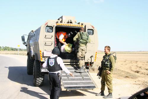 Hatzalah's armored ambulance