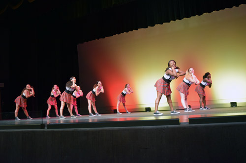 """PHHS dance troupe performs """"Wind It Up."""" (Photo: Shor Masori)"""