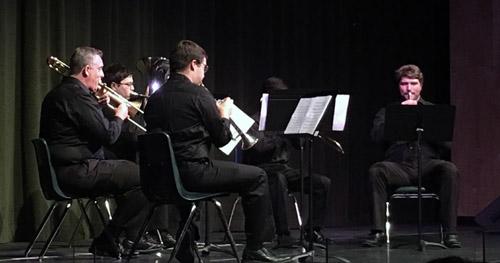 Patrick Henry High School Alumni Brass Quintet (Photo: Jessica Harrison)